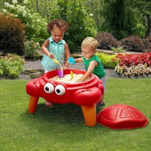 Outdoor toddler toys - crabbie sand table