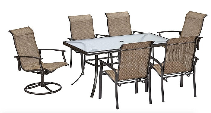 Garden Oasis outdoor dining set