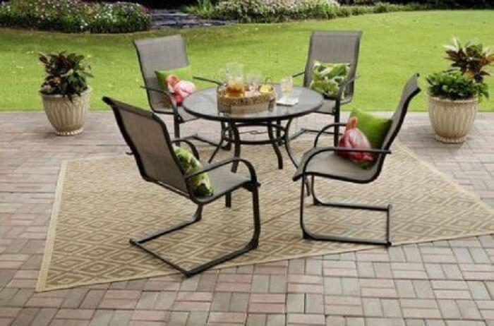 Mainstays Bristol outdoor dining set