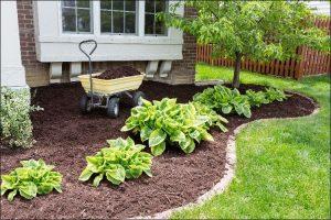 landscaping with bricks brick border