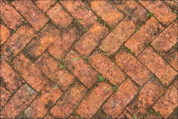 landscaping with bricks brick pattern