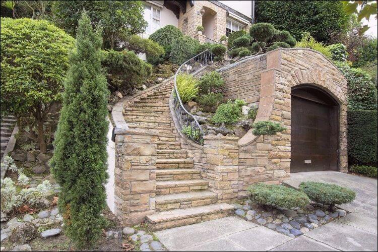 landscaping with evergreens evergreen facade decor