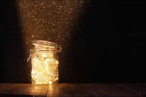 outside Christmas decoration ideas mason jar lights