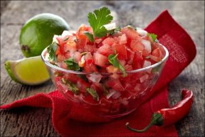 how to grow Roma tomatoes bowl with salsa