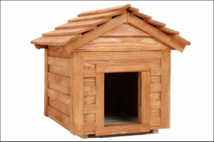 how to build a dog house wooden beige dog house