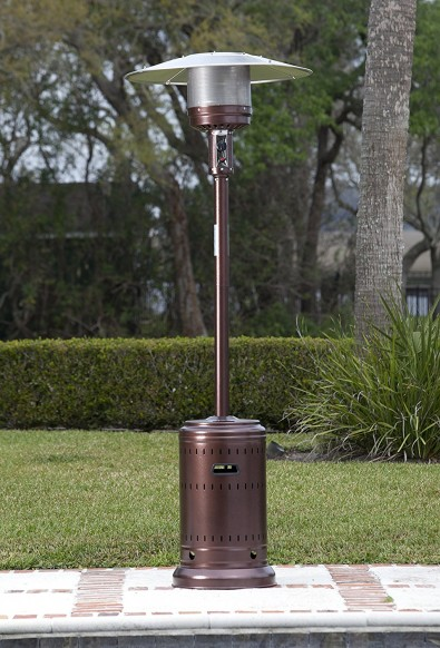 Fire Sense Hammer Tone Bronze Commercial Patio Heater Review