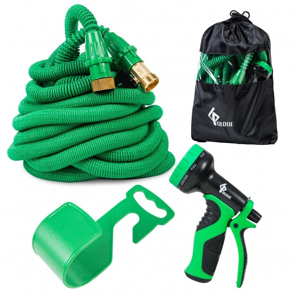 Gloue 100 ft expandable garden hose review Expandable garden hose 100 ft