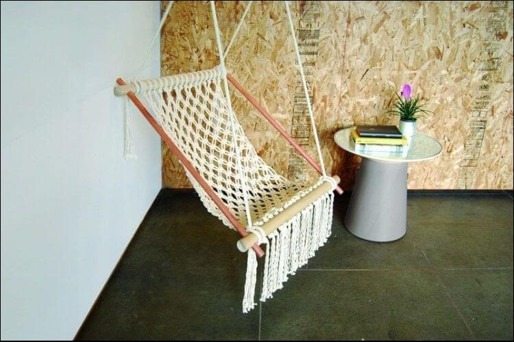 outdoor furniture ideas macrame hammock