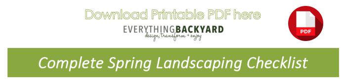complete landscaping checklist pdf download button