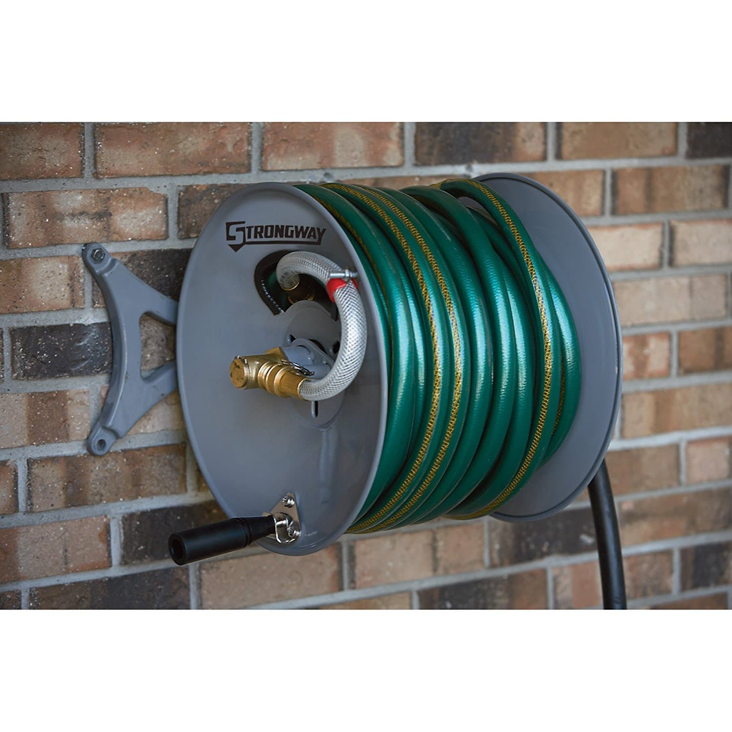 Strongway garden hose reel review for Strongway garden hose reel cart