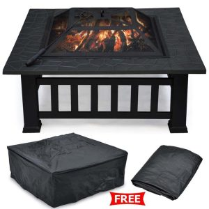 Yaheetech Outdoor Metal Firepit, best fire pit, best fire pits, high quality fire pit, fire pit reviews, best wood burning fire pits, best wood burning fire pit, best firepits, best outdoor fire pit, best gas fire pit, best portable fire pit, top rated fire pits, best fire bowls, best propane fire pit, best fire pit table, best outdoor fire pits, best fire pits to buy, best fire table, top 10 fire pits, best inexpensive fire pit, portable wood burning fire pit, fire pit top, best rated outdoor fire pits,