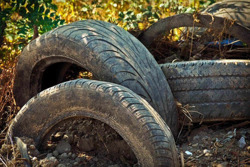 old tires, repurpose old tires, DIY