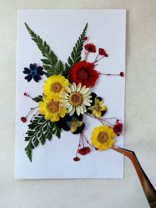 make pressed flowers last, pressed flowers