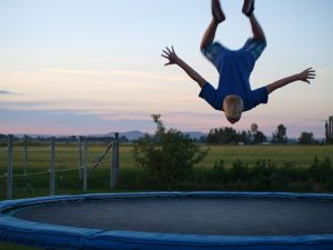 ways to make your trampoline safer, trampoline, trampoline safety, kids