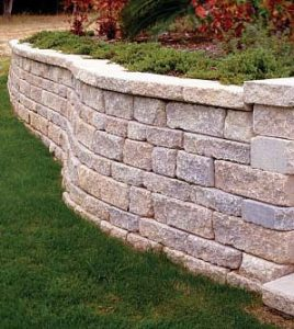 building a retaining wall, retaining wall, construction
