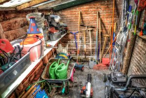 ways to organize your messy shed