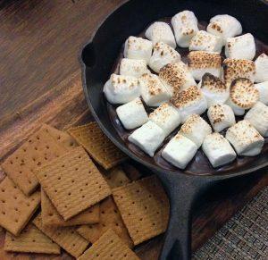 fire pit desserts