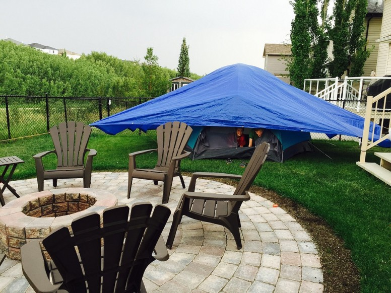 Backyard Camping Ideas That The Whole Family Will Enjoy