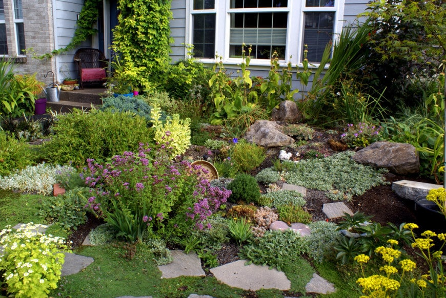 Rock Garden Ideas: How to Create the Perfect One for Your Yard on Rocks In Backyard  id=96436