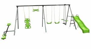 """Flexible Flyer """"World Of Fun"""" Swing Set"""