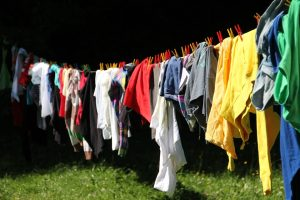 hang drying your clothes