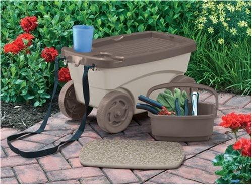 garden scooter, suncast garden scooter costco, suncast garden scooter, garden scooter seat