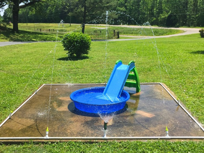 Backyard Splash Pad Cost diy splash pad: tips and tricks for making your own