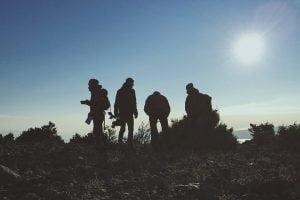 overnight hiking