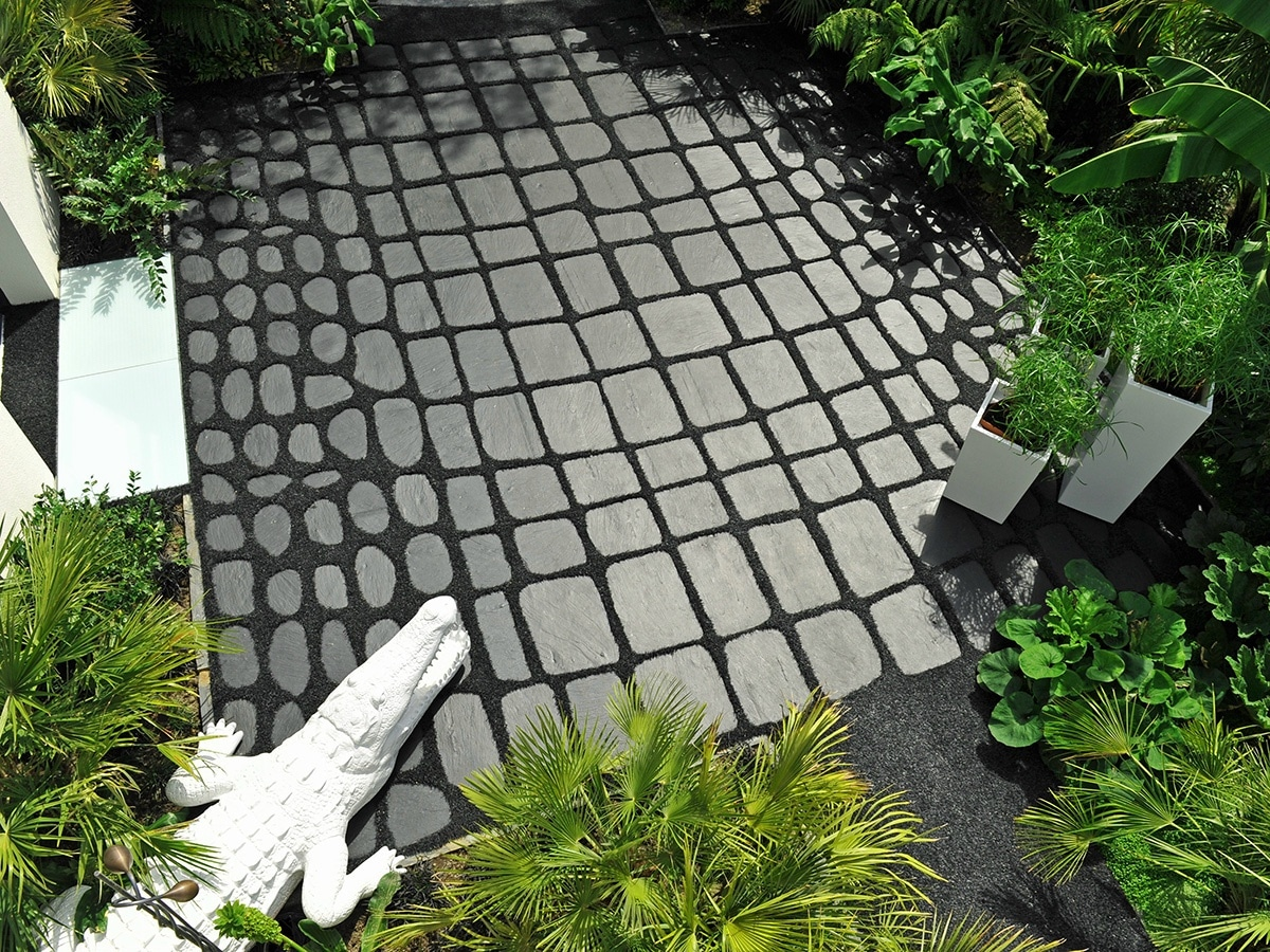 tile, garden tile, gardening