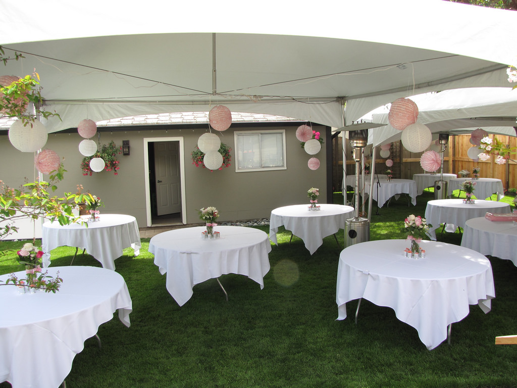 outdoor party, party, hosting a party, party host