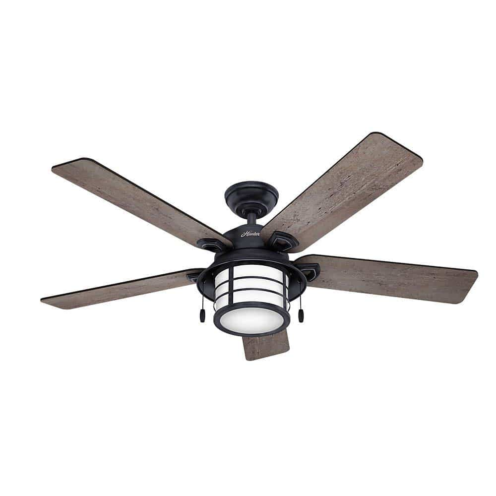 Hunter 59135 Key Biscayne 54 Weathered Zinc Ceiling Fan