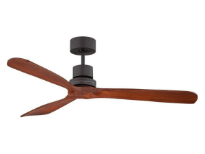 "52"" Casa Delta-Wing Bronze Outdoor Ceiling Fan"