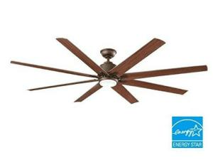 Kensgrove 72 in. LED Indoor/Outdoor Espresso Bronze Ceiling Fan