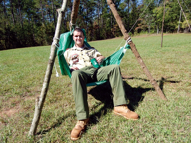 DIY camp chair
