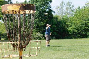 diy disc golf basket