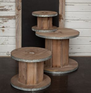 Wooden Wire Spools