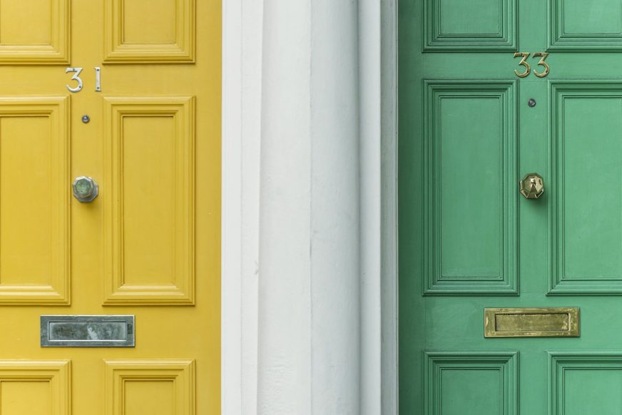 front door colors, front door color ideas, best front door colors