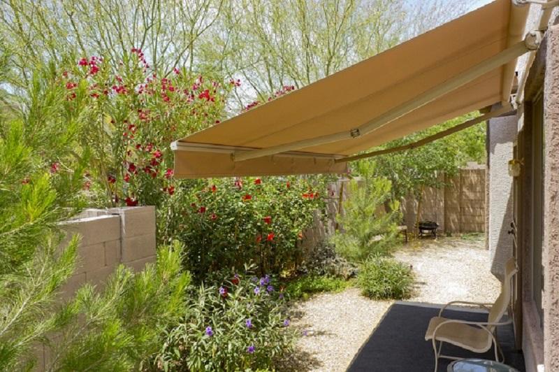 shade structure, outdoors