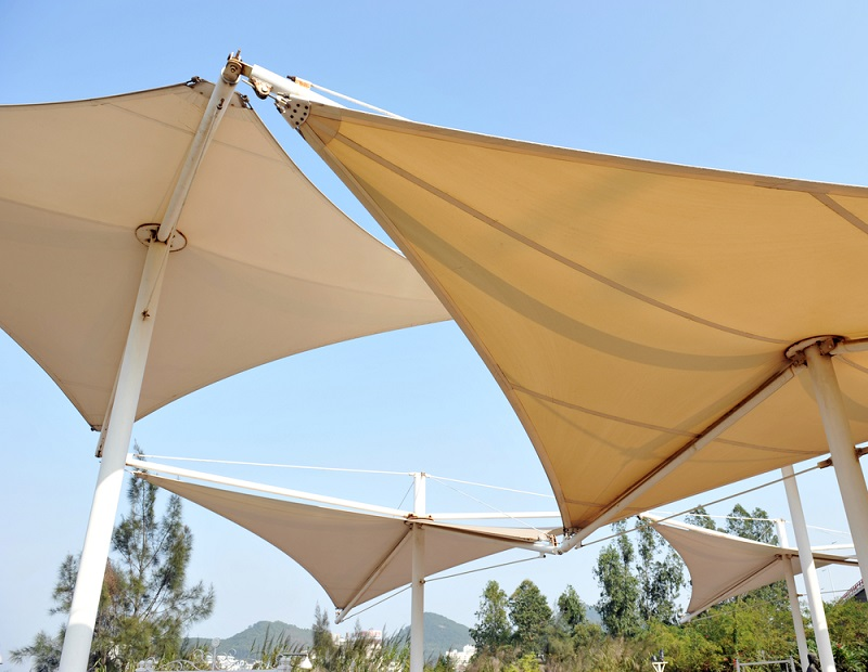 shade structure, shade structures, outdoors