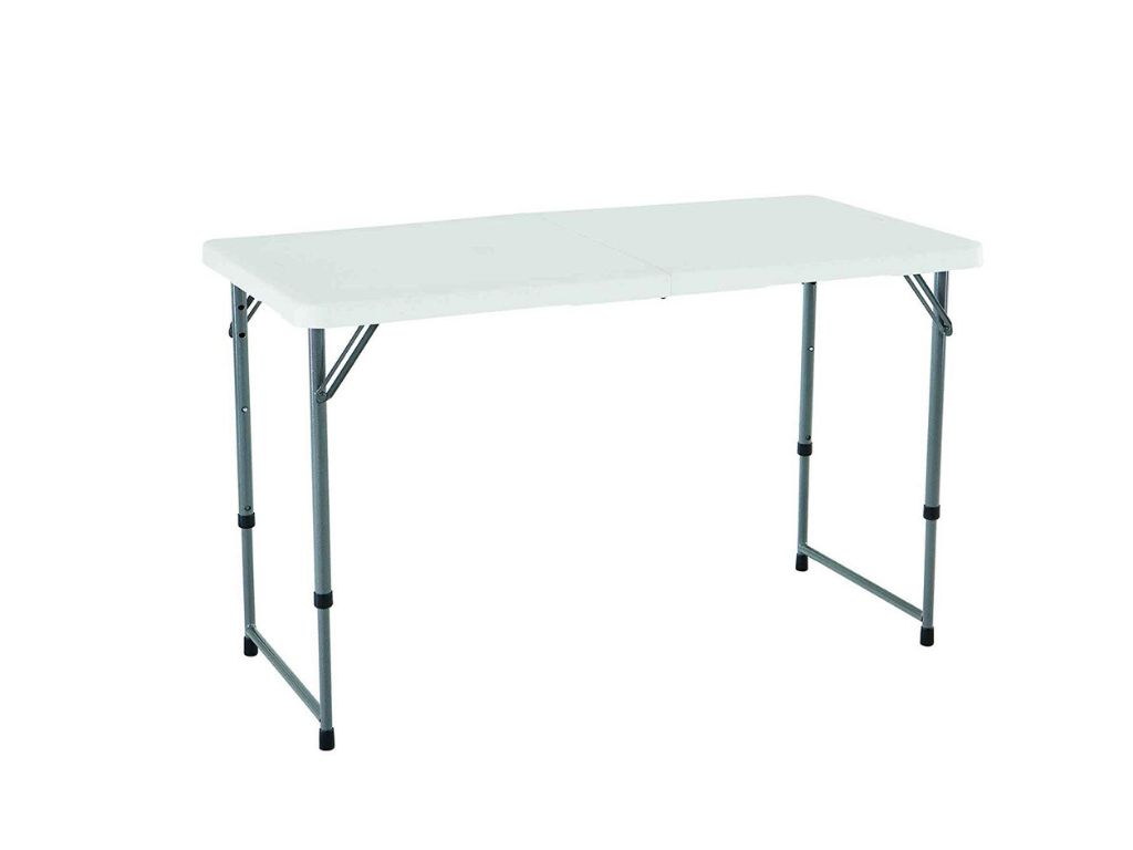 Lifetime Adjustable Folding Utility Table Review