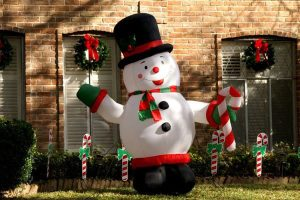 Christmas inflatables, decorations, inflatables