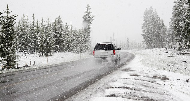 driving in the snow, safety, tips