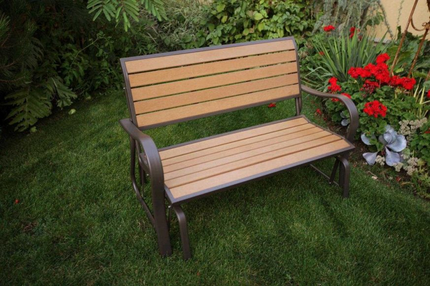 glider bench, lifetime glider bench