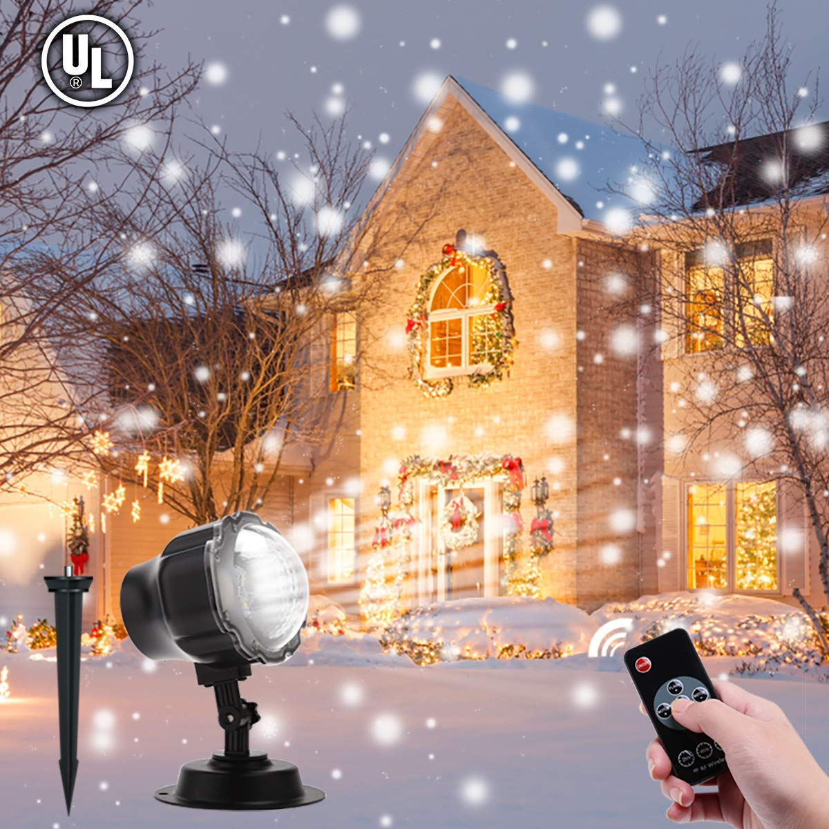 Aloveco Led Christmas Projector Lights Outdoor Review