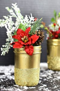 mason jar Christmas craft, holiday, crafts