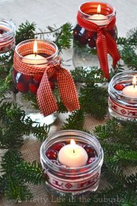 mason jar Christmas crafts, holiday, crafts