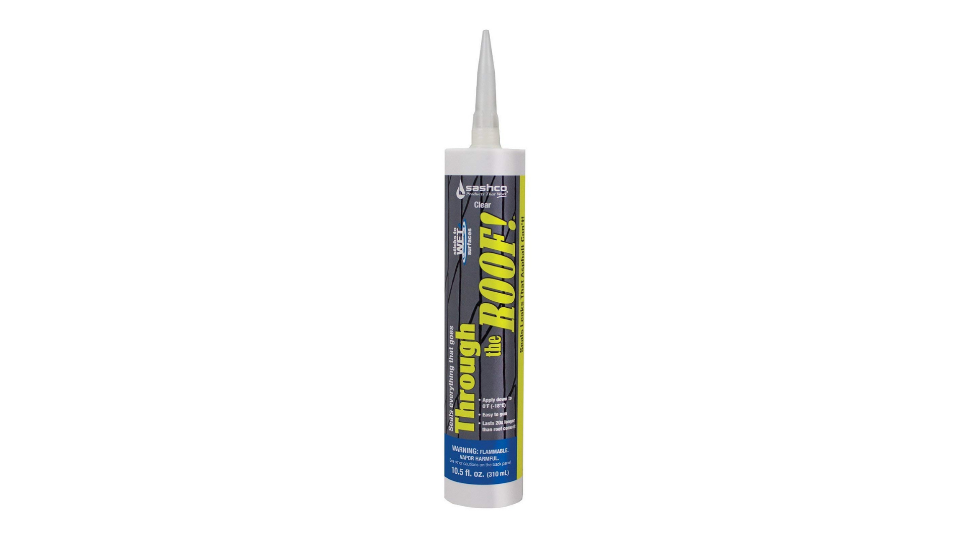 Sashco Through The Roof Cement Amp Patching Sealant Review