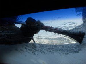 defrosting, car, windshield