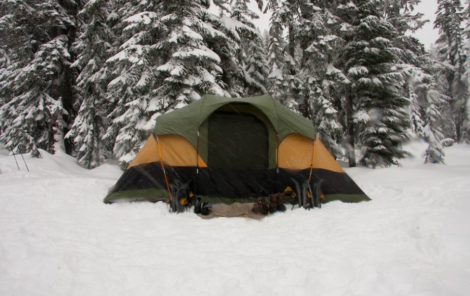 Winter camping, gear, essential