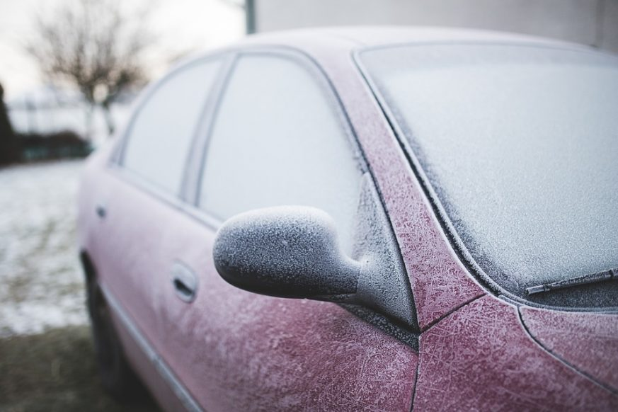 your car, Winter, safety